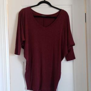 3/4 light sweater